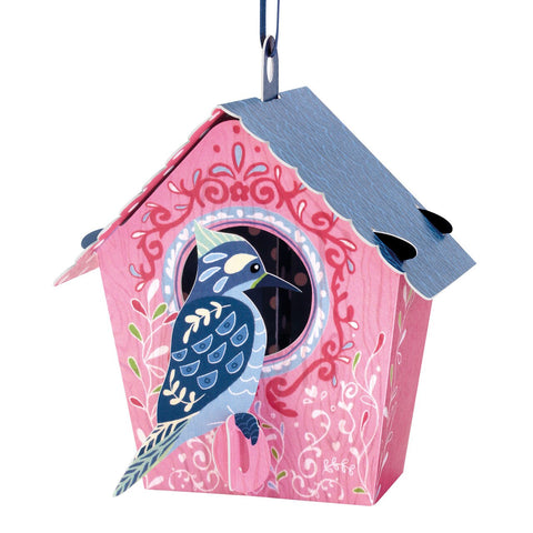 Santoro 3D Chandeliers Birdhouse 'Woodpecker'