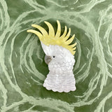 Barry White Cockatoo brooch