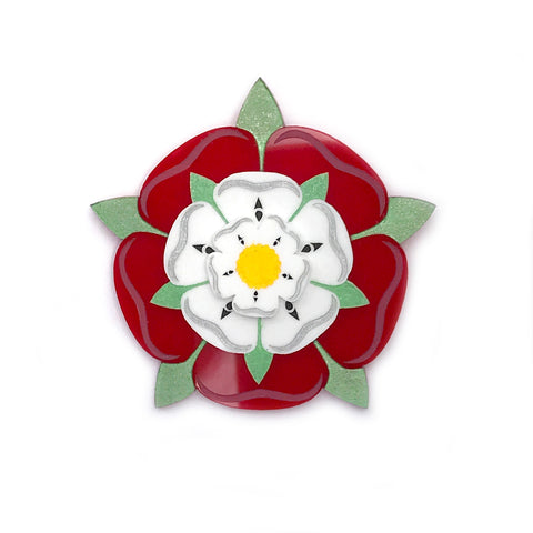Tudor Rose brooch