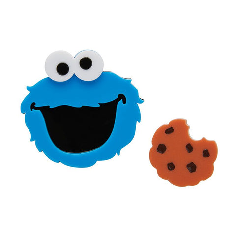 Cookie Monster brooch set