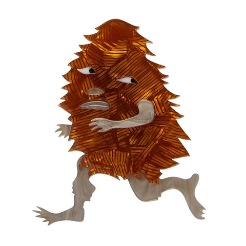 Banksia Man brooch
