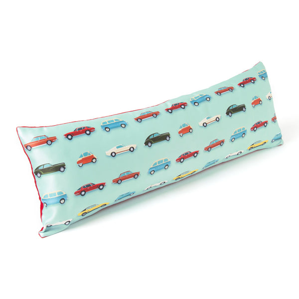 CUSHION  12X36 VINTAGE CARS