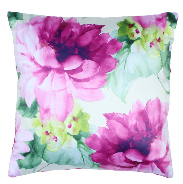 Cushion Cover Bold Pink Flower