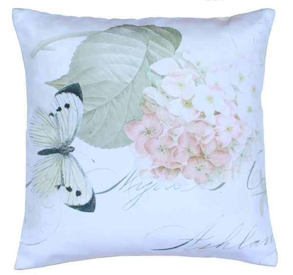 Cushion Cover English Butterfly