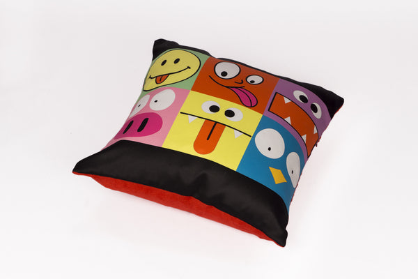 CUSHION COVER SMILEY