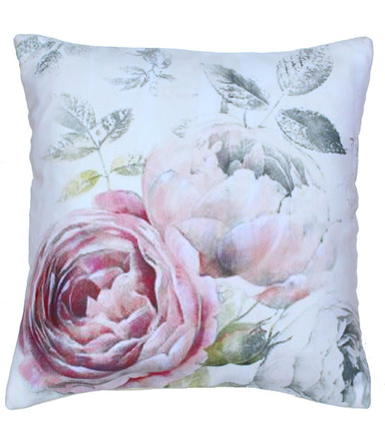 Cushion Cover Vintage Rose