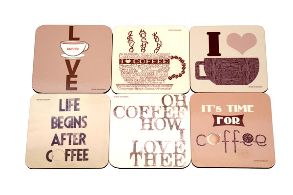 Coasters Dark Coffee