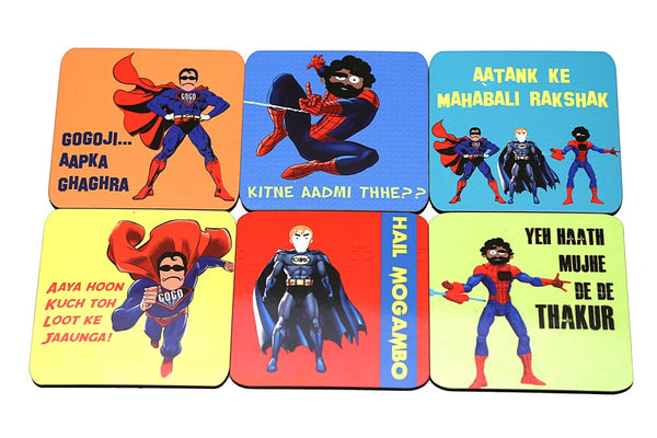 Coasters Super Villans