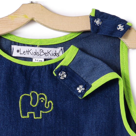 The Denim Elephant Dress