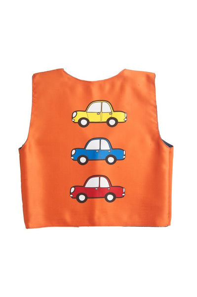 Kids Jacket 3 car Orange
