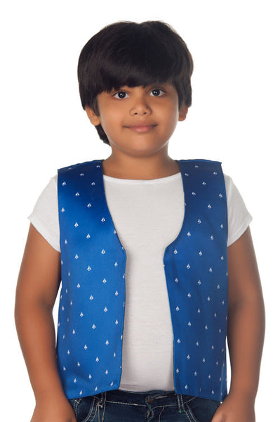 Kids Jacket Sail Boat Blue