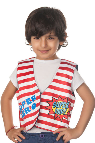 Kids Jacket Dad Superhero