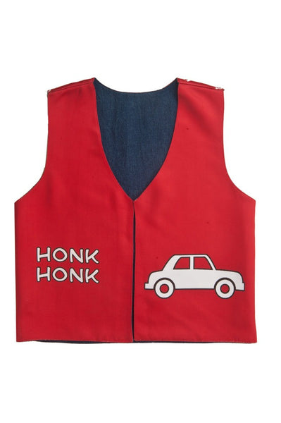 Kids Jacket Honk Red