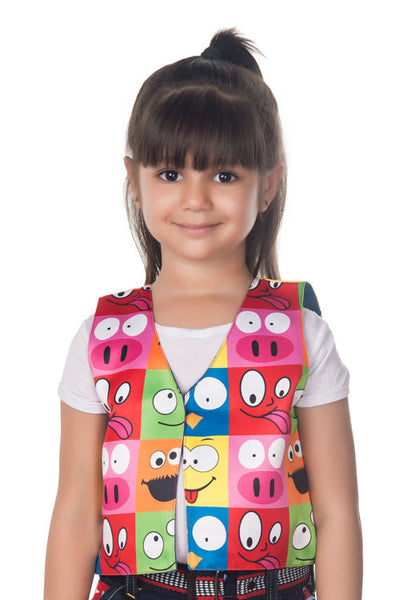Kids Jacket Smiley Faces