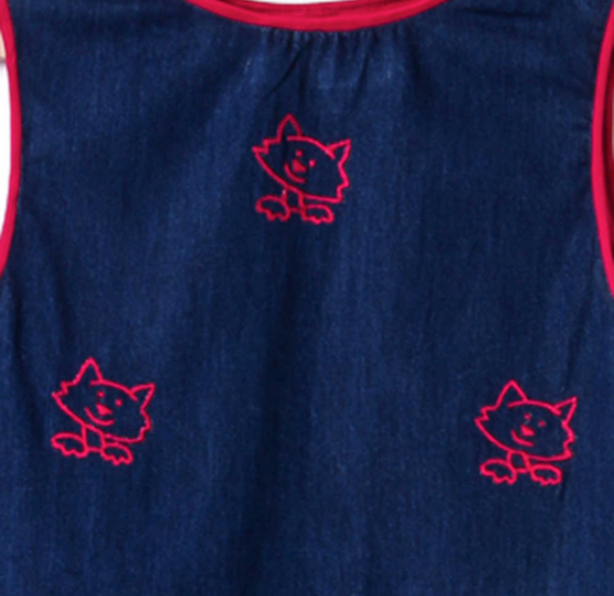 The Denim Cat Dress