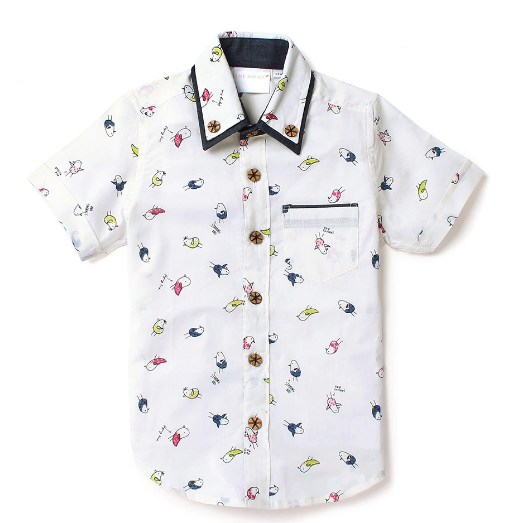 Kids Shirt Happy Birds