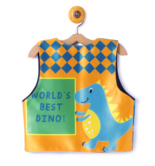 Reversible Kids Jacket World's Best Dino