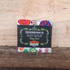 Poppy Seed Body Scrub by The Moher Soap Co.