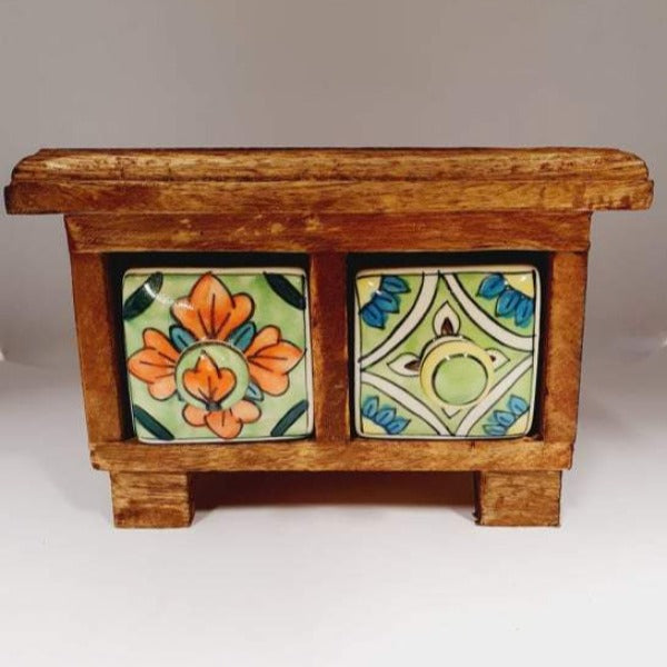 2 Drawer Trinket Box