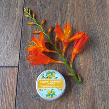 Sweet Natural Orange Lip Balm by The Moher Soap Co.