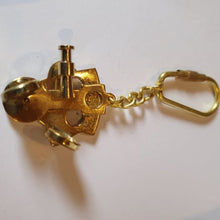 Nautical Brass Keyring Set