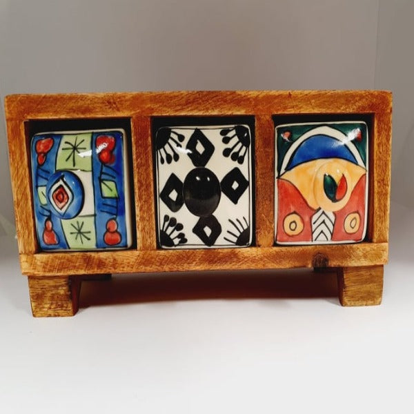 3 Drawer Trinket Box