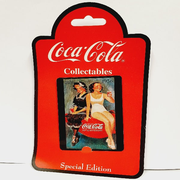 Coca-Cola '1886 - 1936' Collectables Magnet
