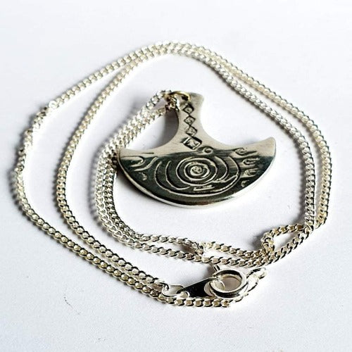 Knowth Basin Stone Necklace