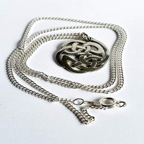 Irish Celtic Art Necklace