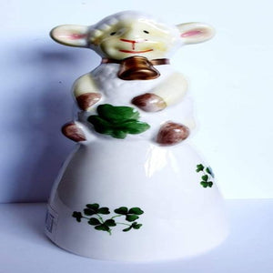 Ceramic Bell Sheep