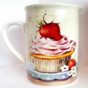 Strawberry Cup Cakes Jug
