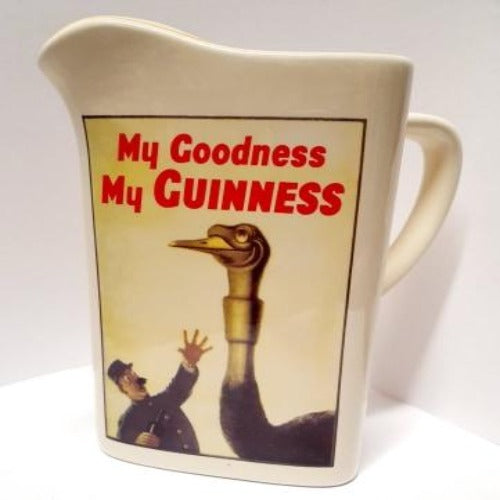 My Goodness My Guinness Jug