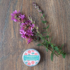 Grapefruit Natural Lip Balm by The Moher Soap Co.