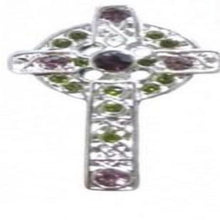 Irish Dancing Celt Cross Brooch