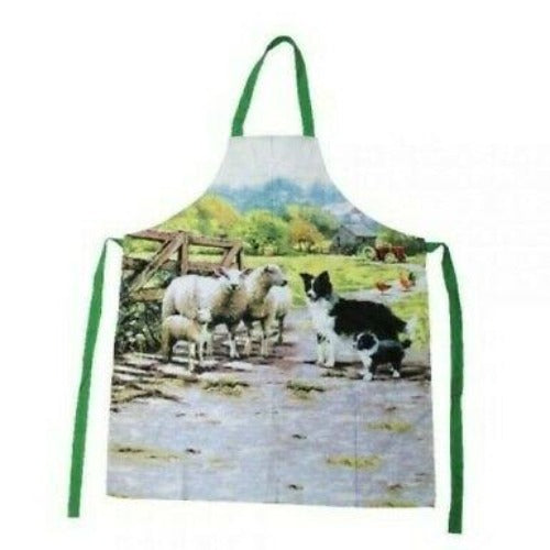 Collie & Sheep Apron