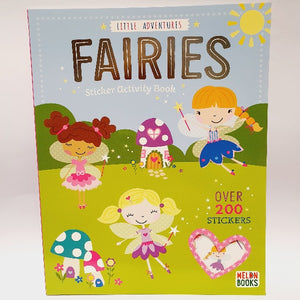 Little Adventures Fairies Sticker Activity Book