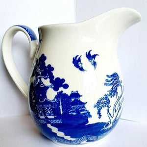 Blue Willow Jug