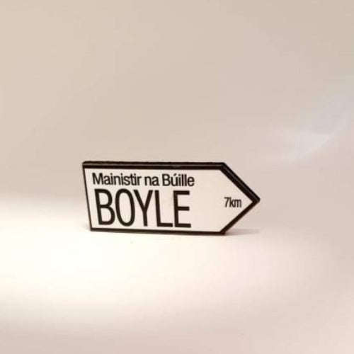 Boyle Road Sign Magnet