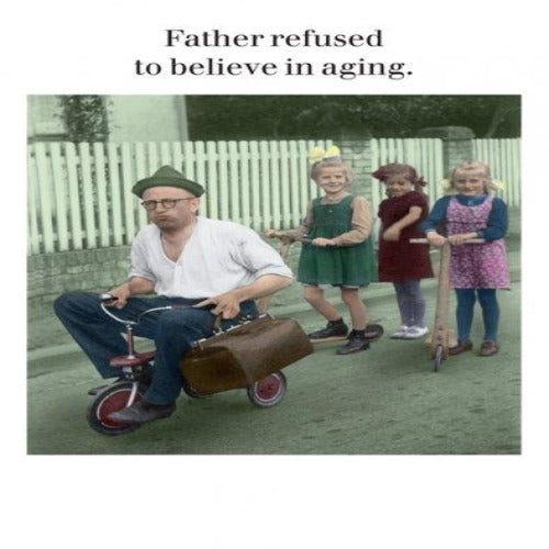 Greeting Card - Father refused .....