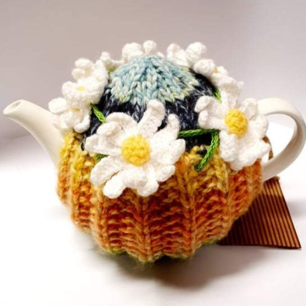 Crochet Tea Cosy - Daisy Chain