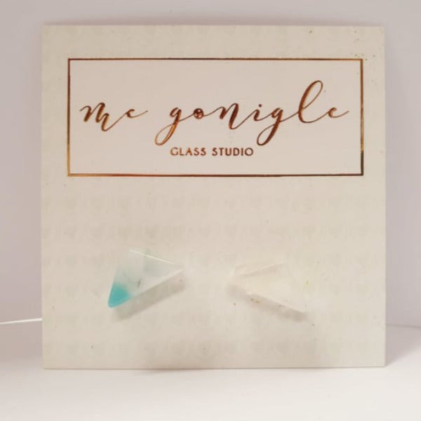Geo Studs - Pastels by Mc Gonigle Glass Studio