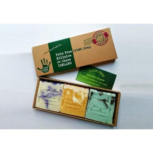 Palm Free Irish Soap Set
