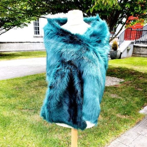Faux Fur Dress Shawl