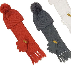 Children's Hat,Glove & Scarf Set