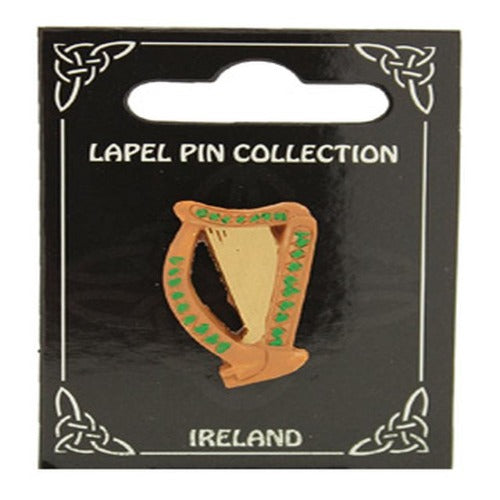 Lapel Pin Collection Harp