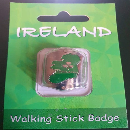 Ireland Walking Stick Badge
