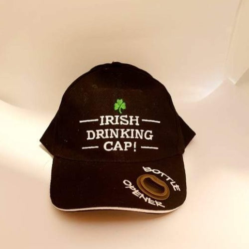 Irish Drinking Cap with Bottle Opener