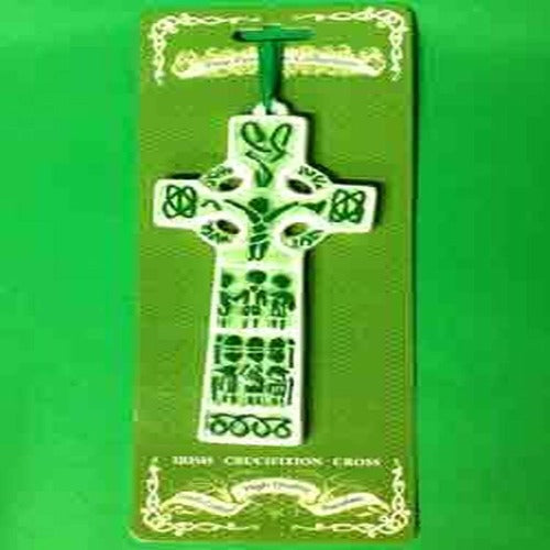 Ceramic Hanging Flat Cross