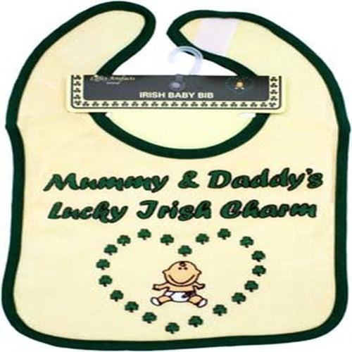 Mummy & Daddy's Lucky Irish Charm Bib