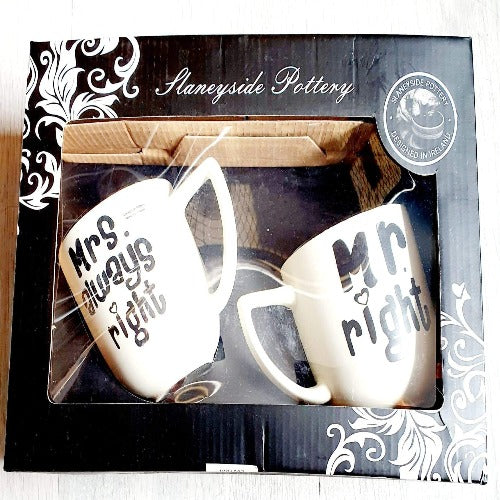 Mug Set Mrs & Mr Right